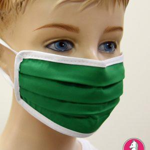 """Παιδική Υφασμάτινη Μάσκα Πολλαπλών Χρήσεων """"Green"""""""