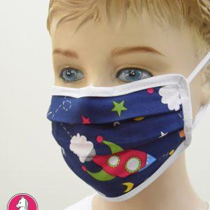 """Παιδική Υφασμάτινη Μάσκα Πολλαπλών Χρήσεων """"Rocket"""""""