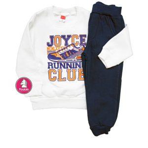 """Φόρμα Φούτερ """"Running Club"""" Για Αγόρι 1-5 202215 Joyce"""