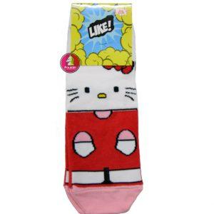 """Παιδικές Κάλτσες Για Κορίτσι """"Red Kitty"""""""