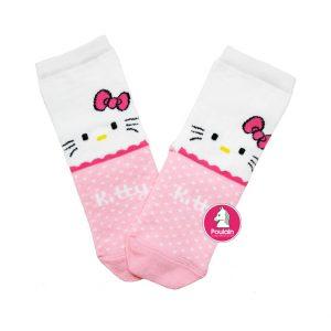 """Παιδικές Κάλτσες Για Κορίτσι """"Pink Kitty"""""""