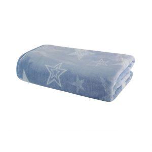 """Βρεφική Κουβέρτα Βελουτέ Κούνιας 100x140 """"Astro"""" Nef-Nef"""