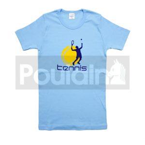 """Φανελάκι Γαλάζιο """"Tennis"""" Pretty Baby"""