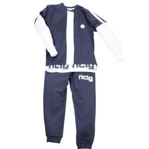 """Παιδική Φόρμα Για Αγόρι """"NCLG"""" 31-8009 New College"""