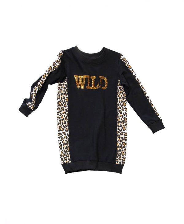 """Μπλουζοφόρεμα """"Wild"""" 31-7051 New College"""