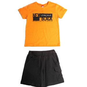 """Καλοκαιρινό Σετ Για Αγόρι """"New Black"""" 211752 Joyce"""