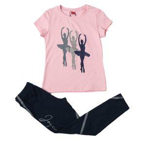"""Σετ Μπλούζα & Κολάν """"Ballerinas"""" 211519 Joyce"""