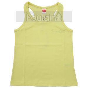 Μπλούζα Αμάνικη Αθλητική Κίτρινη 6203 Joyce
