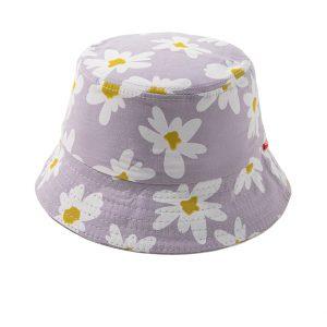 Παιδικό Καπέλο Λιλά Flowers (54εκατοστά)