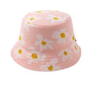 Παιδικό Καπέλο Ροζ Flowers (54εκατοστά)