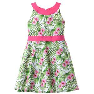 Παιδικό φόρεμα εμπριμέ Babylon