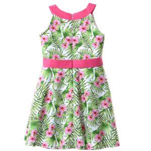 Φόρεμα Εμπριμέ Babylon