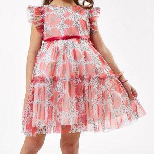 Φόρεμα Εμπριμέ Με Λουλούδια Εβίτα | Poulain.gr
