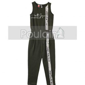 Ολόσωμη Φόρμα Χακί Jumpsuit 211580 Joyce