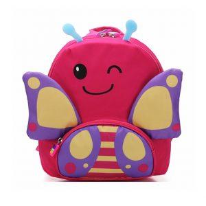 """Παιδική Τσάντα Πλάτης """"Fuchsia Butterfly"""""""