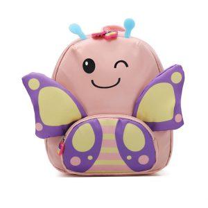 """Παιδική Τσάντα Πλάτης """"Pink Butterfly"""""""