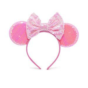 Παιδική Στέκα Μαλλιών 3D Ροζ
