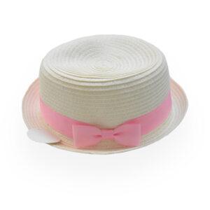 Παιδικό Καπέλο Ψάθινο Με Κορδέλα (50 εκατοστά)