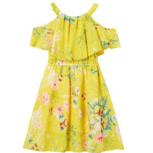 """Φόρεμα """"Jasmine"""" Κίτρινο"""