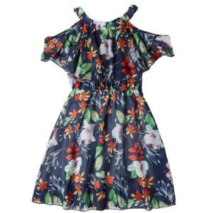 """Φόρεμα """"Violets"""" Μπλε"""