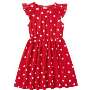 Φόρεμα Polca Dots Κόκκινο