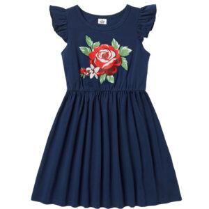 """Παιδικό Φόρεμα """"Rose"""" Μπλε"""
