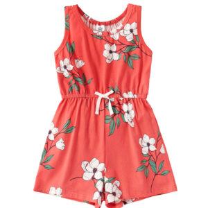 """Ολόσωμη Φόρμα Jumpsuit """"Manoglia"""" Κοραλί"""
