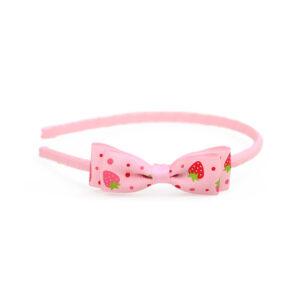 Στέκα Μαλλιών Φράουλες Ροζ
