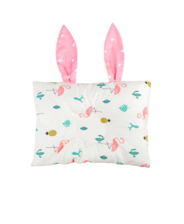 """Βρεφικό Μαξιλάρι Στήριξης Κεφαλιού """"Flamingo"""""""