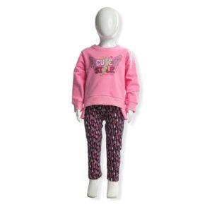 """Σετ Φούτερ & Κολάν """"Cute Style"""" Ροζ 216124 Joyce"""