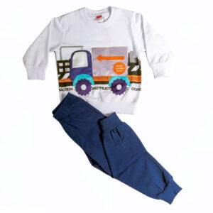 """Εποχιακή Φόρμα Για Αγόρι """"Truck"""" 216336 Joyce"""