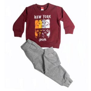 """Εποχιακή Φόρμα Για Αγόρι """"New York"""" 216337 Joyce"""