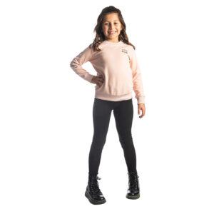 """Παιδική Μπλούζα Φούτερ Ροζ Παλ """"Best"""" 216584 Joyce"""