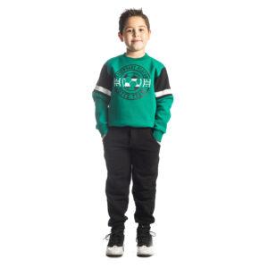 """Παιδική Φόρμα Για Αγόρι Πράσινο/Μαύρο """"Soccer"""" 216726 Joyce"""