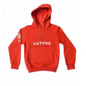 """Παιδική Μπλούζα Φούτερ Με Κουκούλα Εκάϊ """"Future"""" 216760 Joyce"""