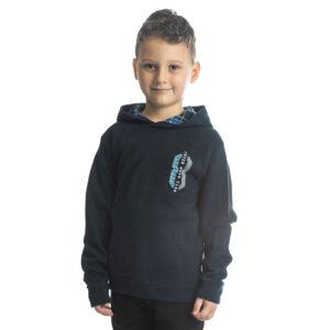 """Παιδική Μπλούζα Φούτερ Με Κουκούλα Μπλε """"8"""" 216761 Joyce"""