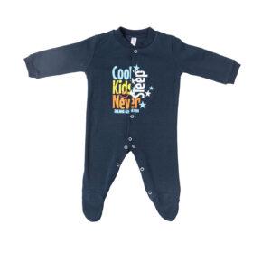 """Βρεφικό Ολόσωμο Φορμάκι Μπλε """"Cool Kids"""" 217057 Dreams"""